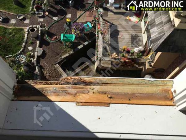 Rotten Andersen Window Sill Bucks County,PA