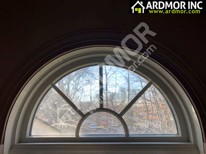 Broken_Arch_Glass_Replacement_in_West_Windsor_Township_NJ_before