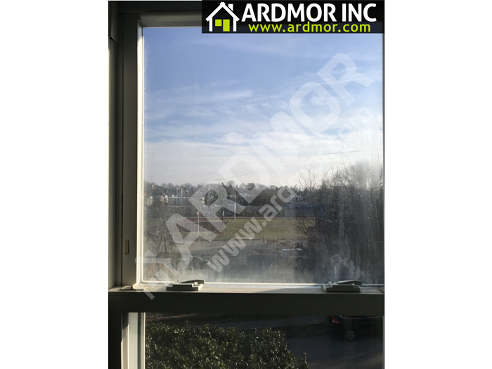 Double_Hung_Foggy_Glass_Replacement_Glen_Mills_PA_before