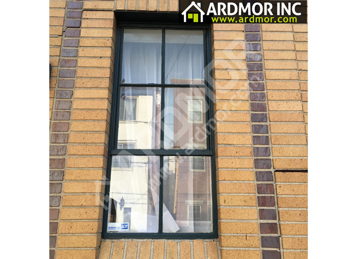 Double_Hung_Window_Install_with_PVC_Trim_Philadelphia_PA_before