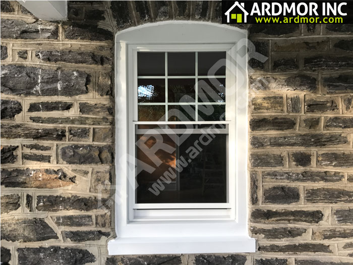 Double Hung Window Replacement With Aluminum Flashing