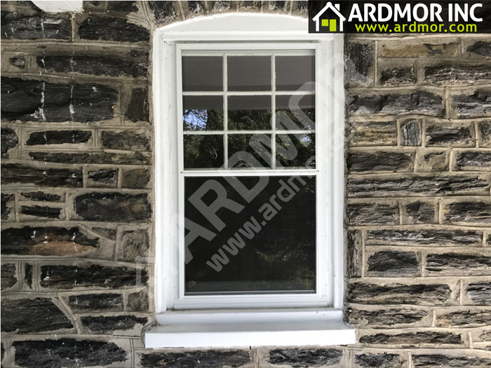 Double_Hung_Window_Replacement_with_Aluminum_Flashing_Narberth_PA_before