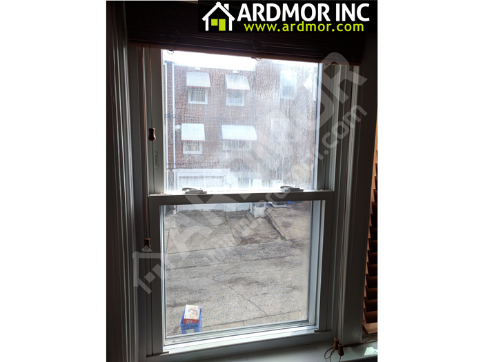 Foggy_Glass_in_Double_Hung_Window_Replacement_Philadelphia_PA_before